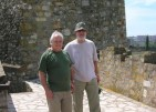 With Yordan Dafov at the Fortress of Smederevo, 2007.