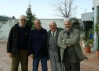 With Zaimov, Leotsakos and Lerescu in Albania, 2004.