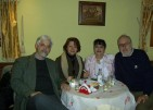 With Sorin Lerescu, Ana Kotevska and Biljana Zdravkovic, 2004.