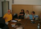 Meeting with students at the University of Tel Aviv