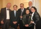 With Šaca Vujić, ToshioTsunozaki, Boki Milošević, Etsuko Tsunozaki & Boki's wife, 2013