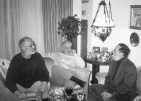 With Ivan Smodlaka & Braca Divic in Toronto, 2000